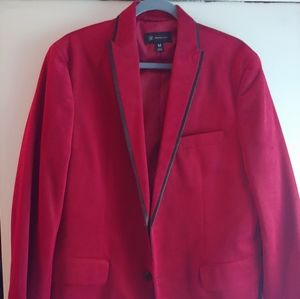 Other - Mens Velvet Red Blazer
